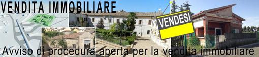Banner per avviso di vendita immobiliare