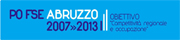 Logo PO FSE Abruzzo 2007-2013