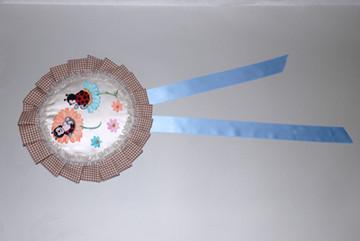 Realizzazione di corredi per neonati, coccarde nascite, biancheria per la casa