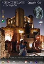 Manifesto evento cena con i bizantini a Crecchio