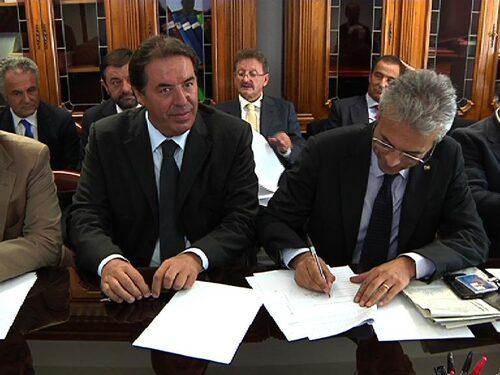 Firma dell'accordo