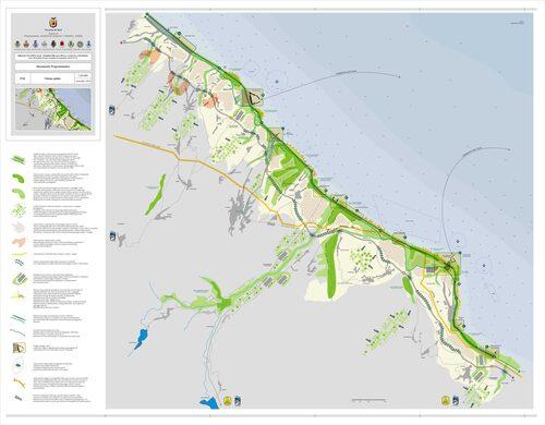 Cartografia della costa dei trabocchi